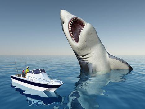 Фото бесплатно опасность, улыбка, акула