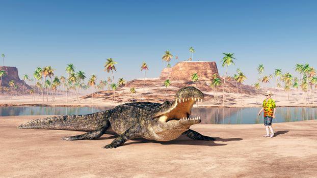 Фото бесплатно крокодил, хищник, оскал