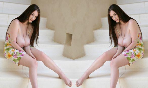 Фото бесплатно Tanya Song, Anster, сочные груди