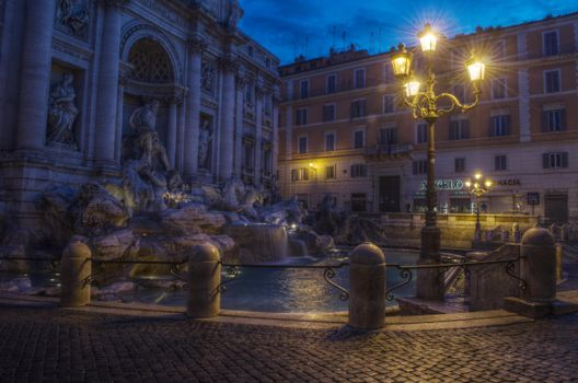 Photo free Rome, Trevi Fountain, city