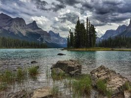 Бесплатные фото Maligne Lake, Jasper National Park, Canada