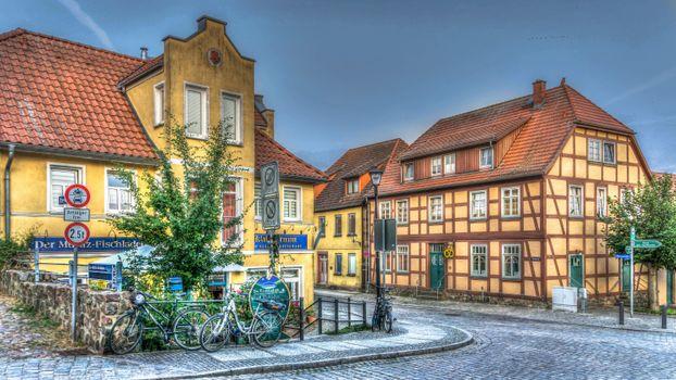 Бесплатные фото Варен,Германия,город,дома