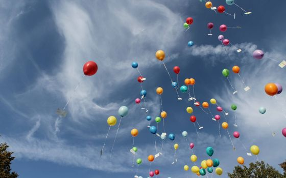 Photo free Balloons, April 12, the cosmonautics day