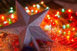 Фото бесплатно иллюминация, украшения, Новый год