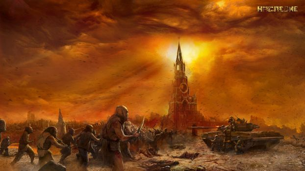 Photo free painting, sergei tarmashev, carnage