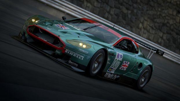 Фото бесплатно aston martin, forza motorsport, гонки