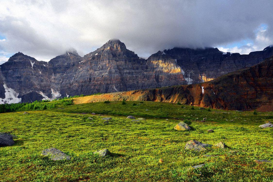 Фото бесплатно горы, холмы, трава - на рабочий стол