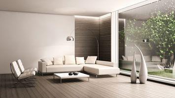 Бесплатные фото гостинная,стол,стулья,диван,окно,вазы,стекло