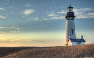 Фото бесплатно маяк, домик, белый