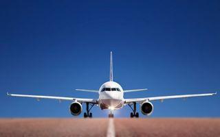 Фото бесплатно самолет, пассажирский, взлет