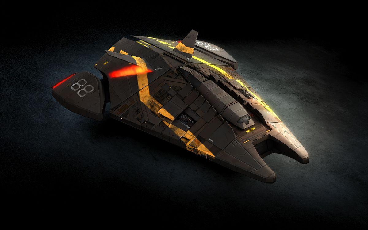 Фото бесплатно звездолет, космические, корабль, цифра, 88, фантастика, фантастика