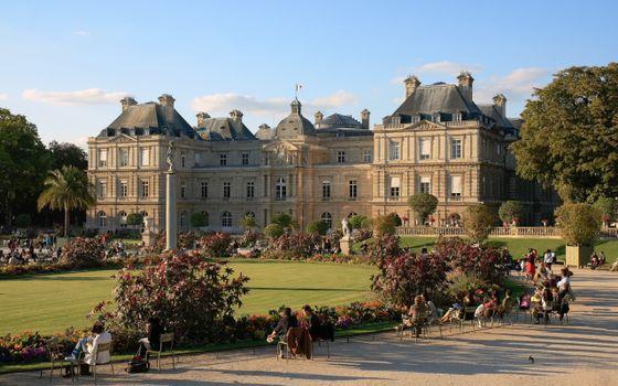 Заставки дворец, люксембургский, париж