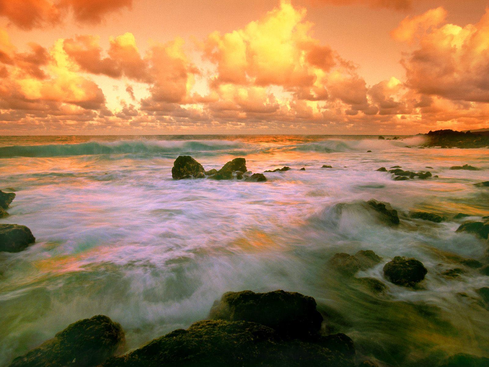 берег, камни, море