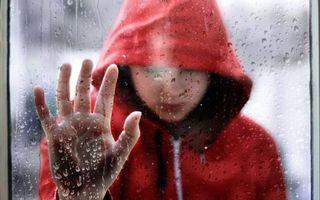 Фото бесплатно человек, дождь, капли