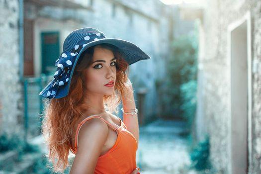 Photo free glamor, make-up, model