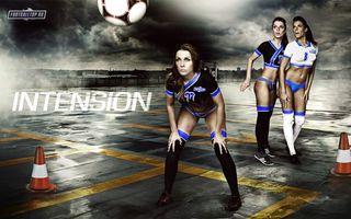 Бесплатные фото футбол,мяч,парковка,игра,боди-арт,женщины,девушки