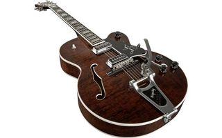 Фото бесплатно гитара, струны, коричневая