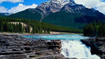 Бесплатные фото гора,вершина,пик,снег,лес,деревья,елки