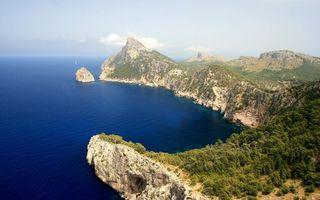Бесплатные фото горы,лес,деревья,джунгли,море,океан,вода