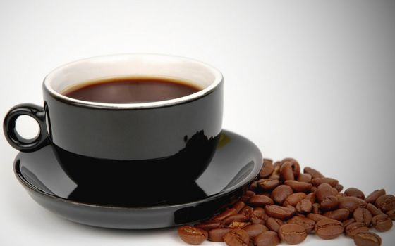 Бесплатные фото кофе,чашка,зерна,черная,вкусно,блюдце,напитки