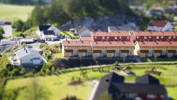Фото бесплатно макет, городок, дома