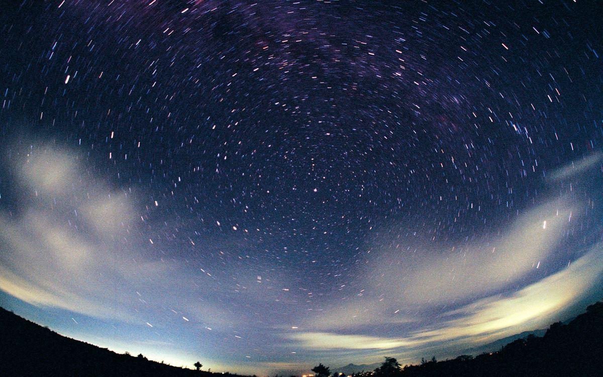 Картинки глаз и звездного неба