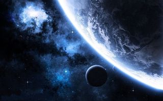 Фото бесплатно планеты, спутники, неизвестные