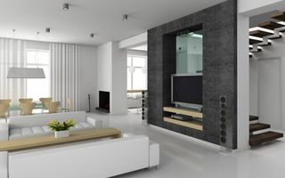 Фото бесплатно потолок, телевизор, дизайн