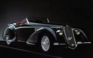 Фото бесплатно ретро, автомобиль, черный, кабриолет, диски, спицы, машины