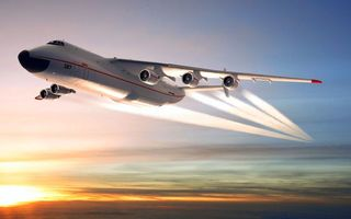 Обои самолёт, большой, очень, авиация