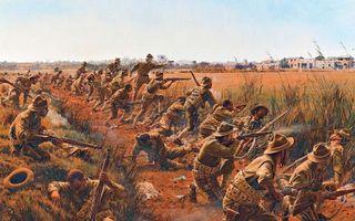Бесплатные фото солдаты,воины,бой,война,поле,дорога,дома