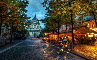 Бесплатные фото церковь,улица,дорога,каменная,кладка,ресторан,дома