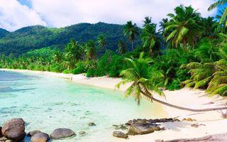 Заставки scenery, остров, sea
