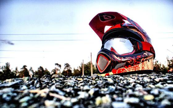 Фото бесплатно шлем, мото шлем, земля