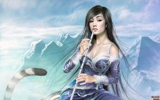 Фото бесплатно лед, зима, волосы