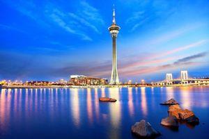 Бесплатные фото китай,город,макао,башня,аомынь,города
