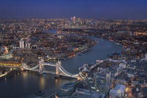 Фото бесплатно Лондон, Великобритания, ночь