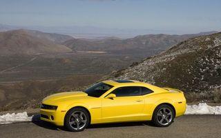 Бесплатные фото мустанг,форд,желтый,диски,горы,небо,машины