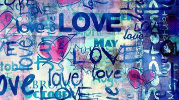 Бесплатные фото надпись, слова, любовь, love, обои, заставка, абстракции