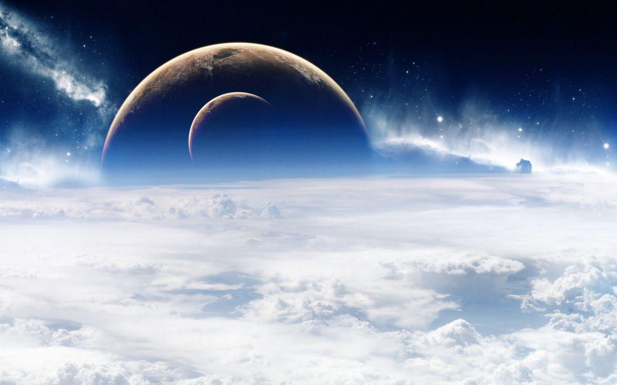 Фото бесплатно новые, миры, планеты - на рабочий стол