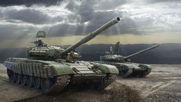 Фото бесплатно танки, война, люди