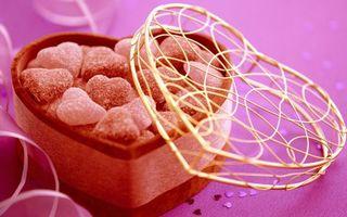 Фото бесплатно gift, сладости, valentines candy
