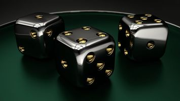 Black dice · free photo