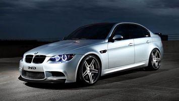 Photo free BMW 3, sedan, tuning