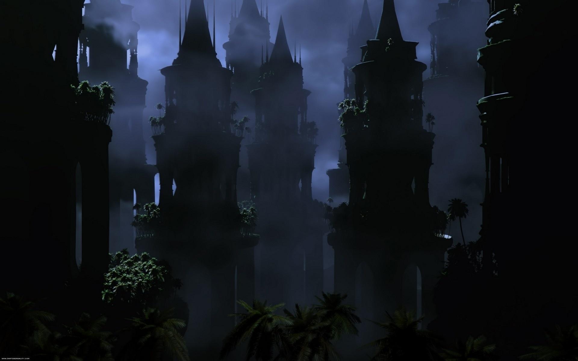 Темный замок обои на рабочий стол