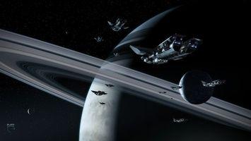 Заставки корабли, космос, планета