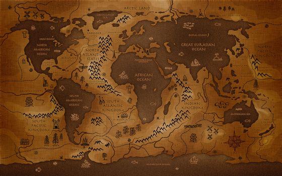 Фото бесплатно карта, мир, планета
