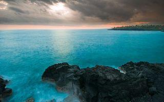 Фото бесплатно море, океан, камни