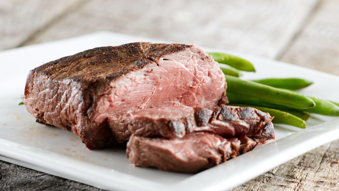 Фото бесплатно мясо, жеренное, тарелка - на рабочий стол
