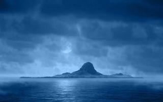 Бесплатные фото остров,небо,облака,тучи,море,океан,вода